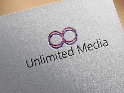 Unlimited Media ,- Logo Design, logo, stock, media