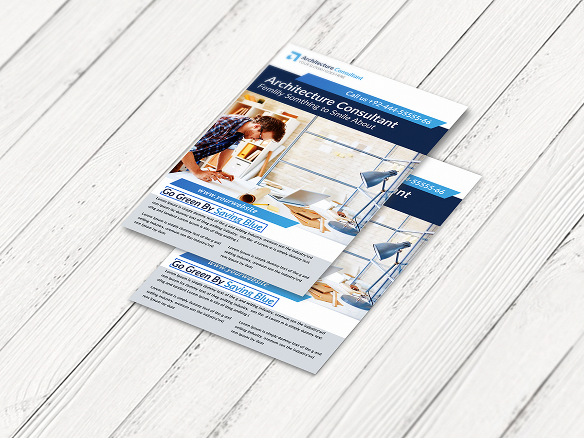 Architecture-Consultant-Flyer-template