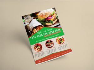 Fast Food – Flyer Template