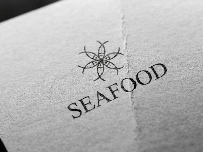 Sea Food logo, food, sea, beach, fish, logo, design, sea, sea food, fish, logo design, logo idea, logo template, logo pds, logo vector
