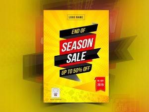End of Season Sale Poster Templates