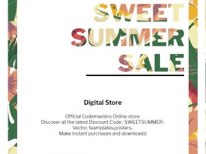 Sweet Summer Sale – Social Media Template