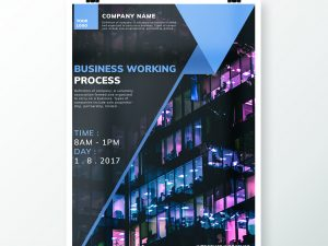 Business Working Process Flyers