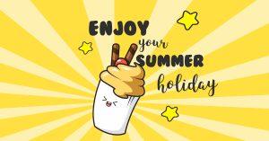 ice, cream, sweet, social media, illustration, vector, comic, character, icons,