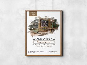 Coffee grand opening – Fyer Template