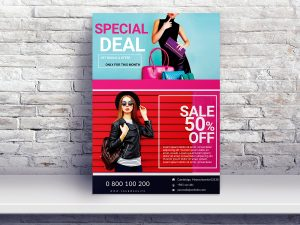 Fashion Sale – Flyer template