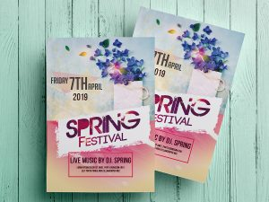 Spring Festival – Flyer Templates