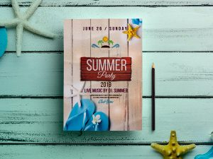 Summer party – Flyer Templates