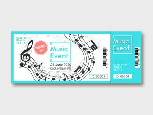Music Event Ticket