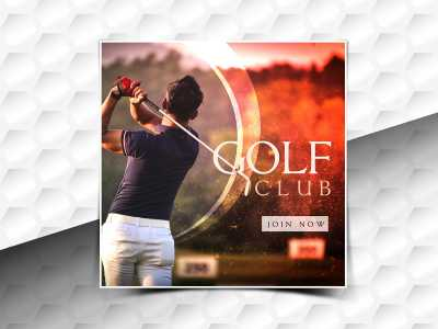 Golf club Social Media Template