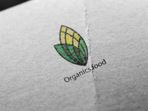 Organics food – logo design