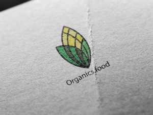 Organics food – logo design