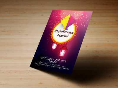 Mid Autumn Festival,Templates, flyer, poster, kids, children, festival, autumn, lantern