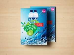 Shop Fresh water – Poster Templates