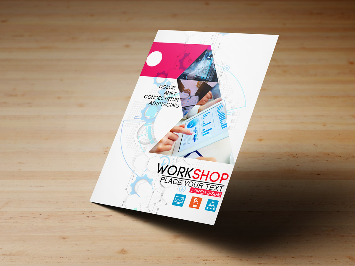 Technology workshop flyer templates creatily market saigontimesfo