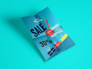 Cyber Monday Sale – Flyer Template