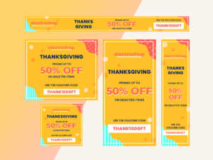 Thank givings Promotion – Google Ads, GDN Banner
