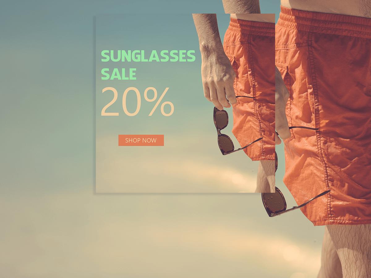 Sunglasses Sale,Sunglasses, Social Media, templates, glasses, sale, promotion, men, facebook ads, instagram