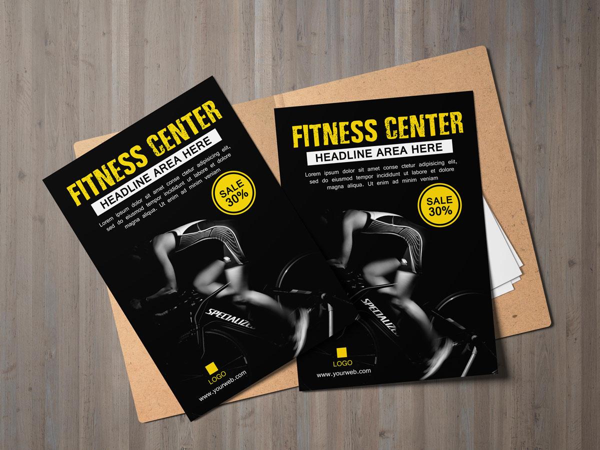 Fitness, poster, gym, PT, Bike, shape, get in shape, center