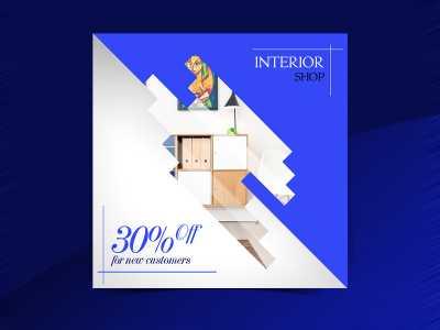 Interior shop Social Media Template