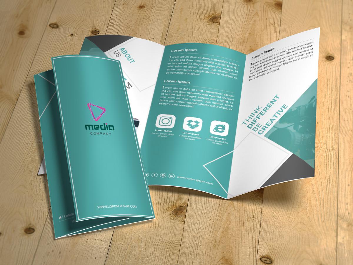 Media company brochure