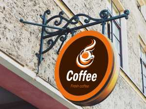 Coffee Store Logo Template