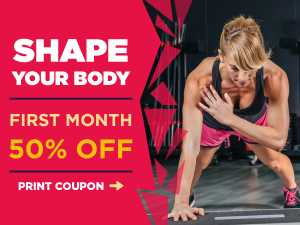 GYM CENTER PROMOTION – SOCIAL MEDIA TEMPLATE