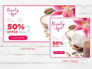Spa Promotion Design Template