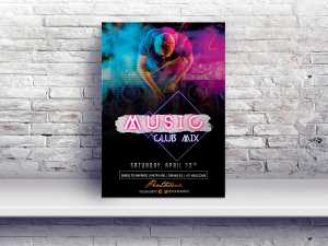Music Club Mix – Flyer Templates