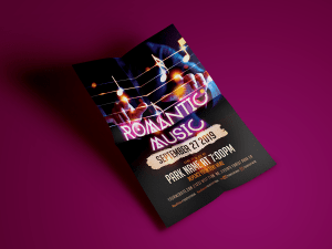 Romantic Music Flyer Templates