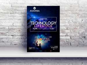 Technology Information Poster Templates
