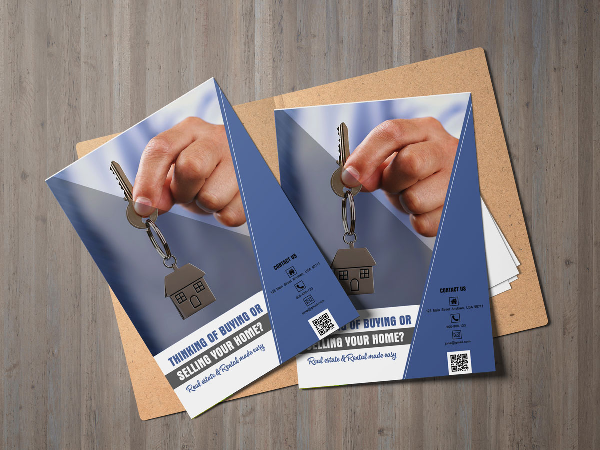 Real Estate Flyer Template XCreative - Selling flyer template