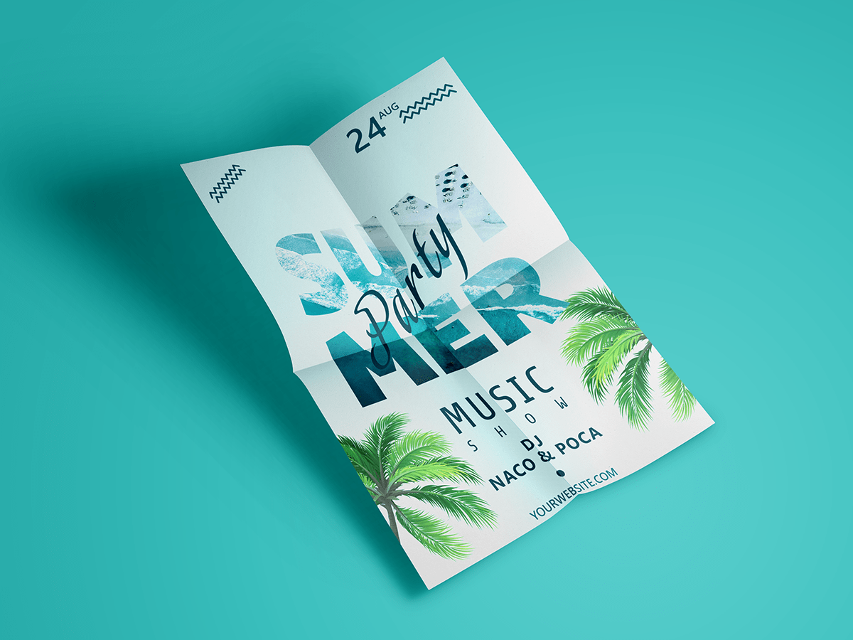 Summer-Party-Poster-templates