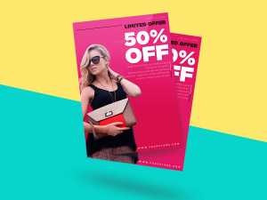 FASHION FLYERS TEMPLATE