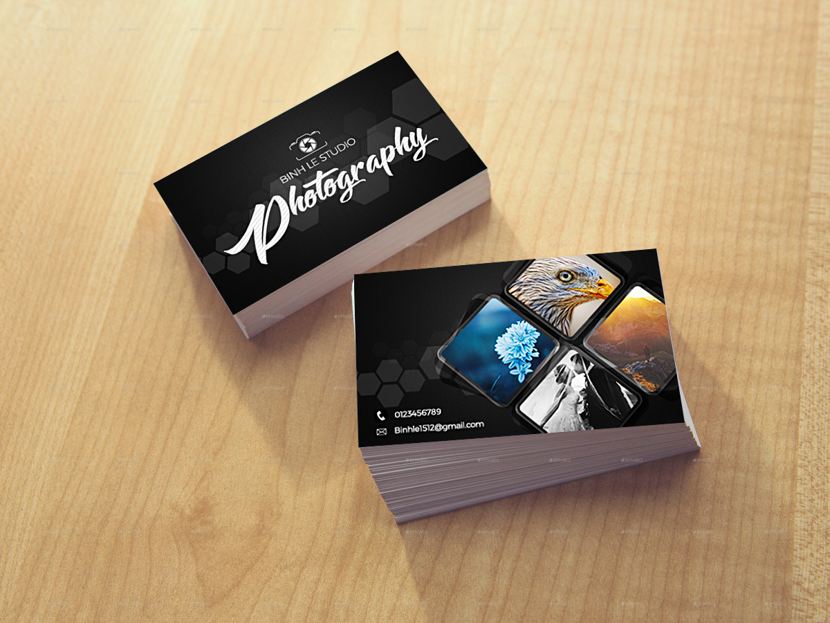 Photographer business card templates xcreative photographer business card templates fbccfo Image collections