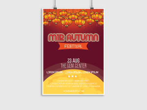 Mid Autumn Festival – Flyer/Poster Templates