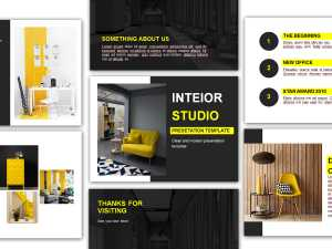 Interior Studio Presentation Template