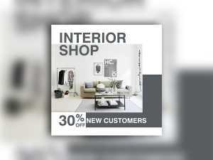 Interior Shop – Social Media Template