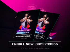 Fitness Center-Flyer Templates