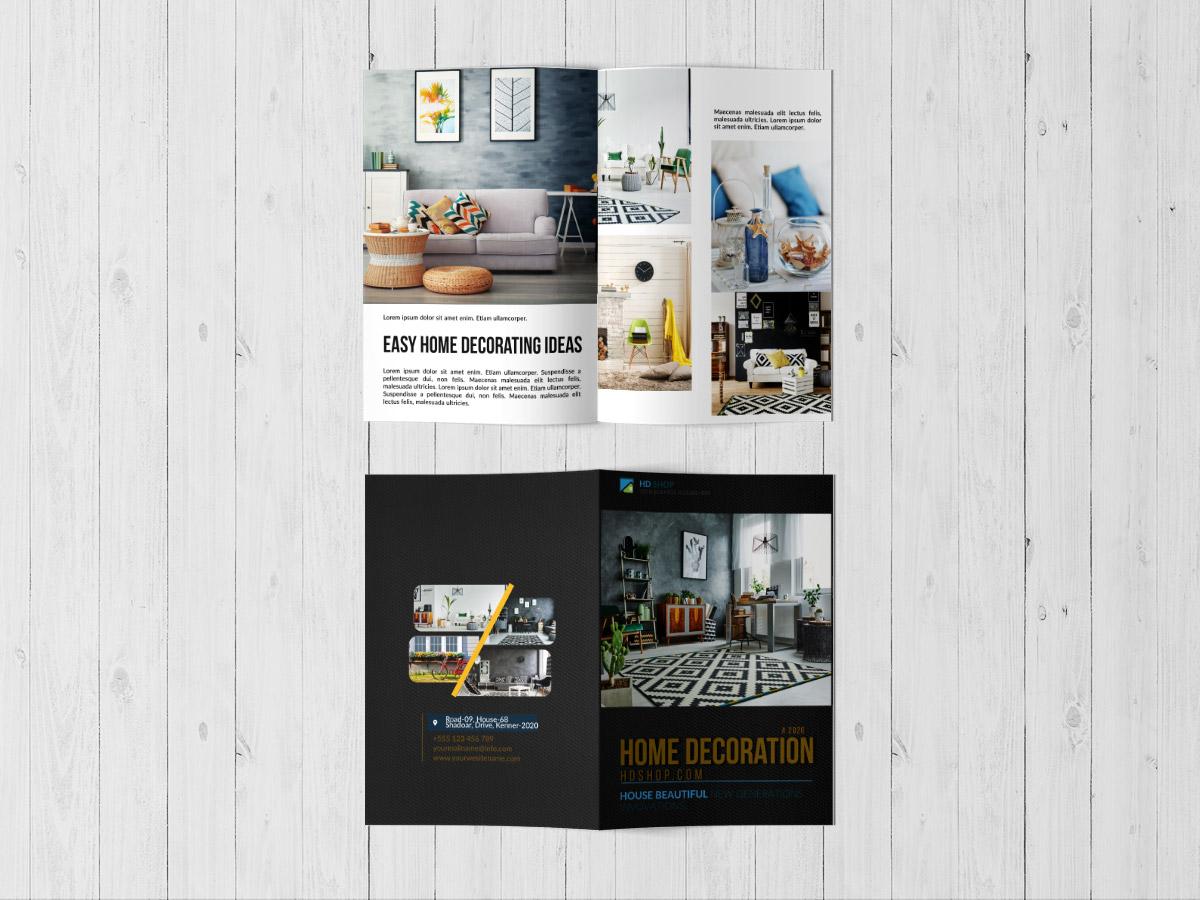 Home Decoration Brochure Templates Xcreative