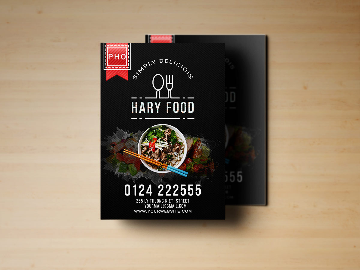 restaurant food flyer templates xcreative