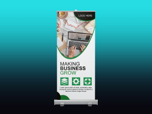 Making business – Rollup banner