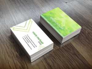 Green House – Artist – Business card
