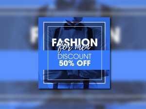 Fashion Men – Social Media Template