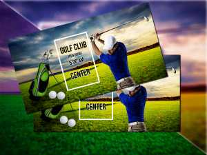 Golf Club-Social Media Templates