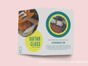 Guitar Class Brochure