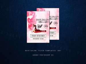 Hair Salon -Flyer Templates -001