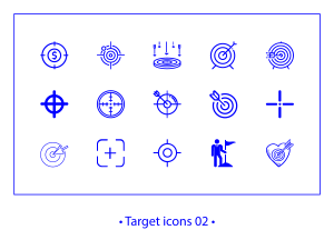 Target 02 – linear icons