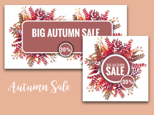 Big Autumn Sale – Social Media Templates