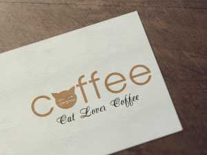 Cat Lover Coffee Logo